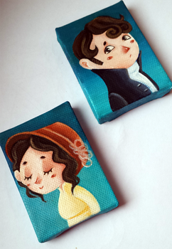 Pride and Prejudice minicanvas! by Nachan