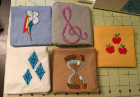 Cutie mark wallets (bi-fold) by FanaticalFactory