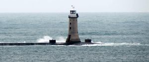 light house off the hoe plymouth by Sceptre63