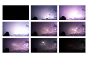 Lightening Storm Action Shots by LeviSei