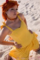 Asuka Langley Yellow Dress by plu-moon