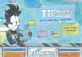 FTF News featuring me - Poster by FelixToonimeFanX360