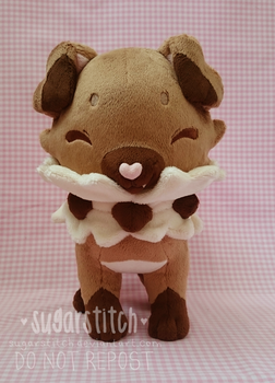 Pokemon: Rockruff by sugarstitch