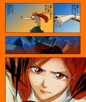Orihime Fighting by BillieFeng