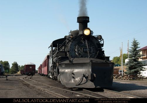 Steam Train 4 by SalsolaStock