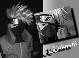 Poor Kakashi by Suki-Cosplay