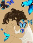 August Drawing Challenge '15- Day 3: Flutter by MarikoRose