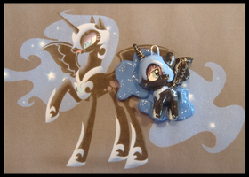 Chibi-Charms: MLP Nightmare Moon by MandyPandaa