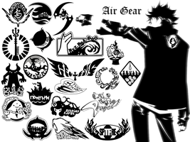 Air Gear Emblems by Endtrax
