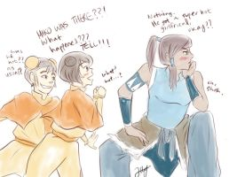 Makorra: Oh Shush. by peachringring