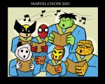 Marvel Choir by JamieCosley