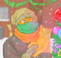 merry tmnt christmas! by GoreChick