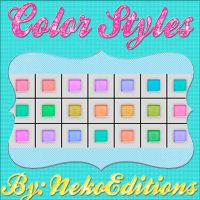 ColorStyles by NekoEditions