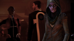 Young hooded asari by Nightfable