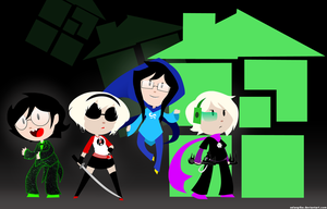 Homestuck genderswap wallpaper by SelanPike
