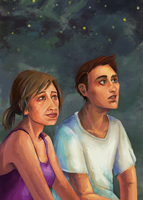 Sadness of Ages - Sue + Jake by bonezie