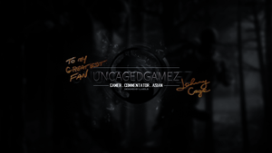 UncagedGamez fan made YouTube banner by LLABSLB