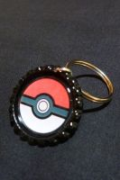Pokeball Pokemon Keychain by Monostache