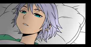 Young Riku colored by TemmieVega1999
