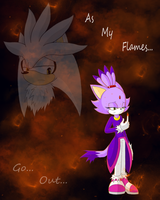 As My Flames Go Out... by yufi103092