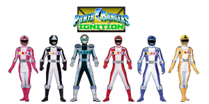 Power Rangers Ignition by DerpMP6