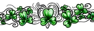 Celtic Shamrock by dcbats2000