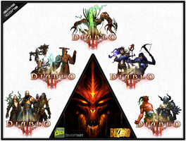 Diablo III - Icon Pack by karim3adel
