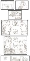 A Gift: A Sabriel comic by thnksfrthwilliam