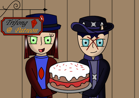 Cake for a Hatter by Trifong