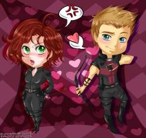 AVENGERS - Stupid Cupid by stardazzle