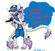 READY FOR PAINTBALL BETCH by FENNEKlNS