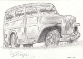1948 WILLYS WAGON by Levn