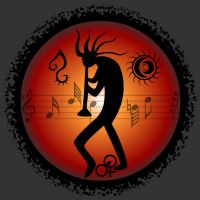 Kokopelli- MusicArtLoveFreedom by scart