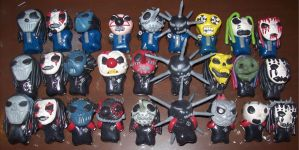 .:Slipknot Chibi Army:. by slipkrich