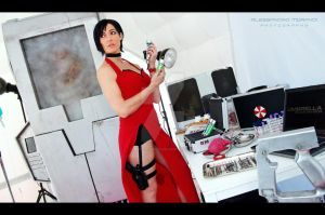 Ada Wong : Samples acuqired - time to go by Mikela-Frost