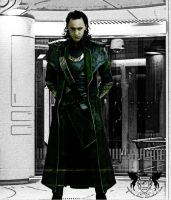 Loki by Captain-Elinor