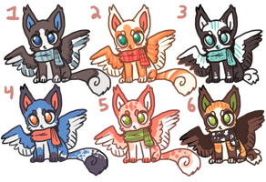 Adoptables NOW BASE PRICE by Magicpawed