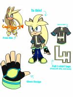 Lemon the Hedgehog contest entry! by SakuraDreamerz2