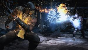 Scorpion Vs Sub Zero by HyperM0nkey
