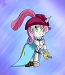 Sweetie Bell - Musketeer by SupLoLNope