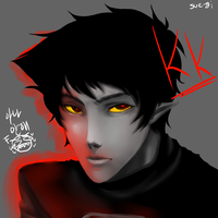 HS karkat by sue-gi