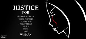 JUSTICE FOR WOMEN by ArsalanKhanArtist