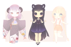 March Adopts Batch (1/3) OPEN paypal only by ShiiroHana