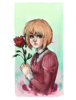 aph: Roses are red by xBlackMelody