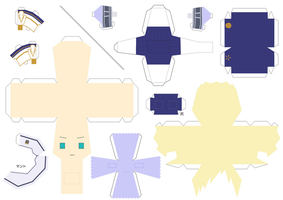 Middle Ages Sweden Papercraft by KimiMonsterKitty