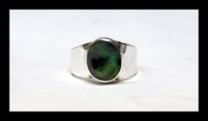 Black Opal Ring by manwithashadow