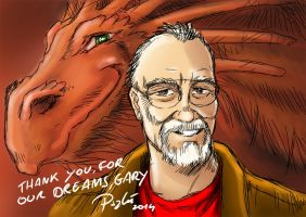 Gygax anniversary by psychee-ange