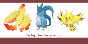 Legendary Trio by atomicspacemonkey
