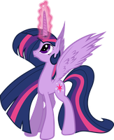 Regal Twilight Sparkle by Silentmatten