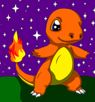 Charmander, the First of Many by auroradragon93